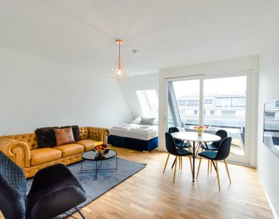 Bright modern apartment near the city center