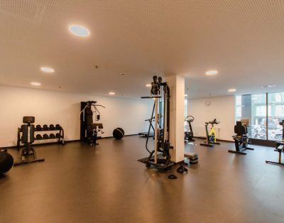 Apartment with breathtaking view and private gym