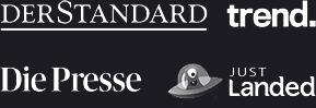 Bekannt aus: Der Standard, Die Presse, Just Landed, trend.